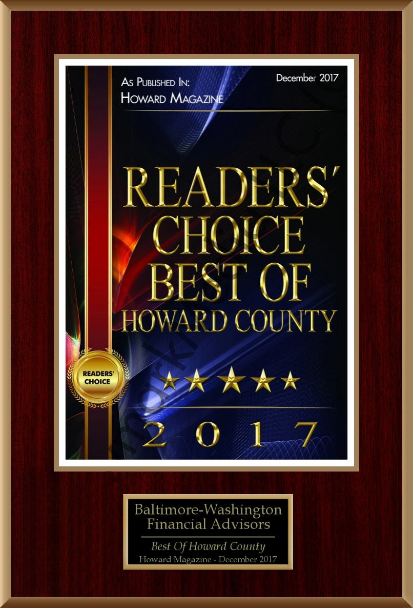 Readers' Choice Best of Howard County 2017