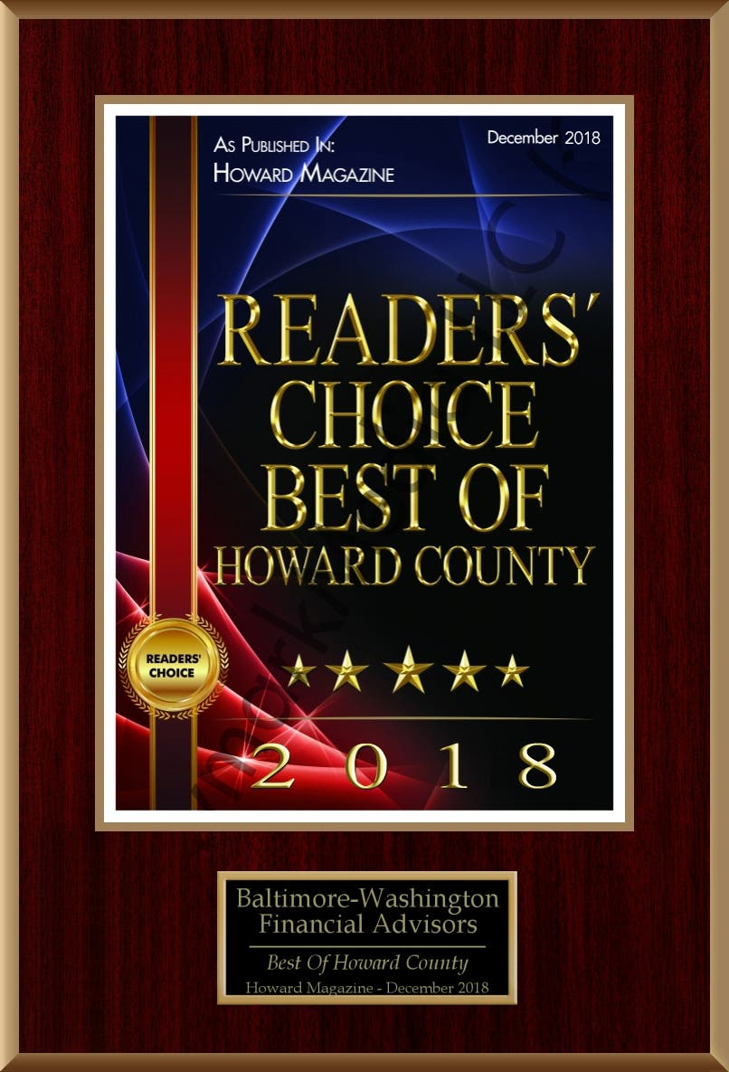 Readers' Choice Best of Howard County 2018