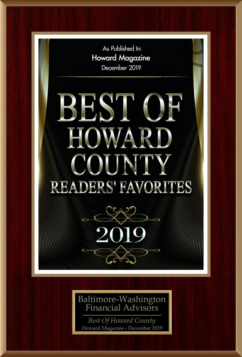 Best of Howard County 'Readers Favorite' 2019