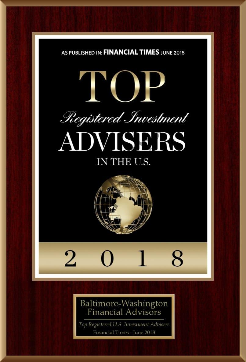 Top 300 RIAs in the U.S. 2018