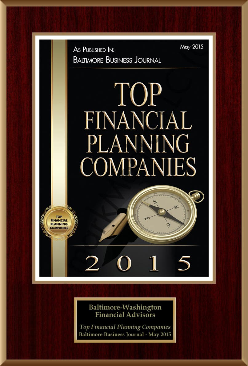 Top Financial Planning Companies 2015