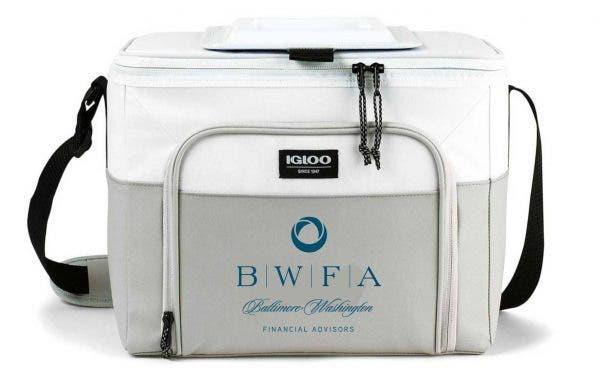 Igloo White/Grey Seadrift Hard Lined Cooler