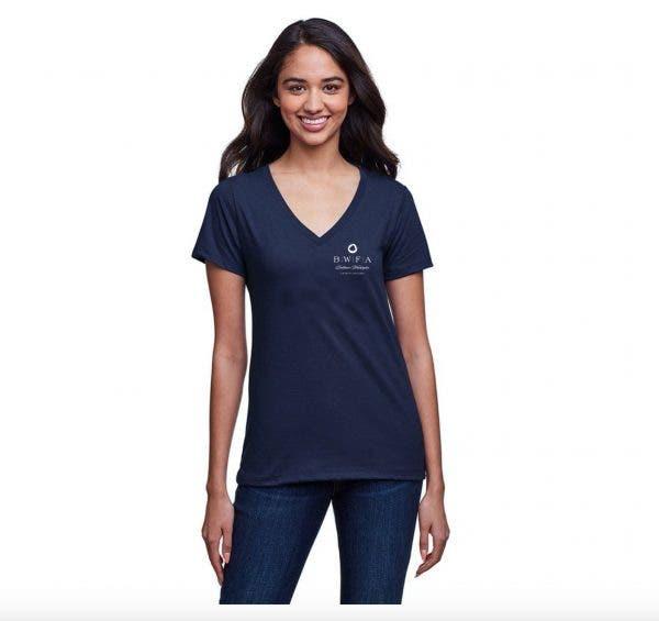 Next Level Women's Midnight Navy Eco Performance T-Shirt