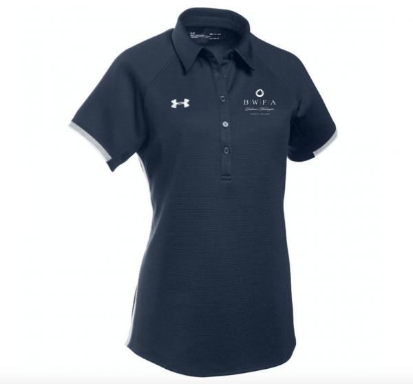 Under Armour Women's Midnight Navy Team Rival Polo