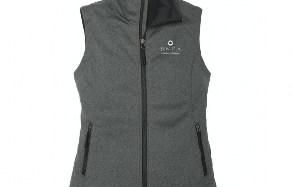 The North Face Women's Dark Grey Heather Ridgeline Soft Shell Vest