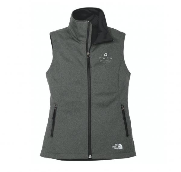 The North Face Women's Dark Grey Heather Ridgeline Soft Shell Vest
