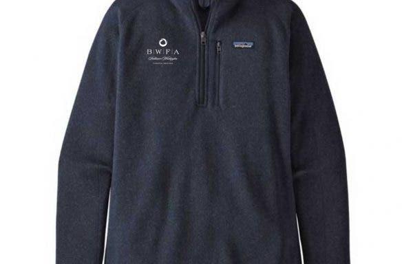 Patagonia Men's New Navy Better Sweater Quarter Zip 2.0