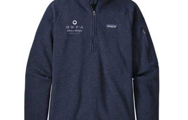 Patagonia Women's New Navy Better Sweater Quarter Zip 2.0