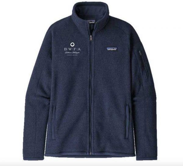Patagonia Women's New Navy Better Sweater Jacket 2.0