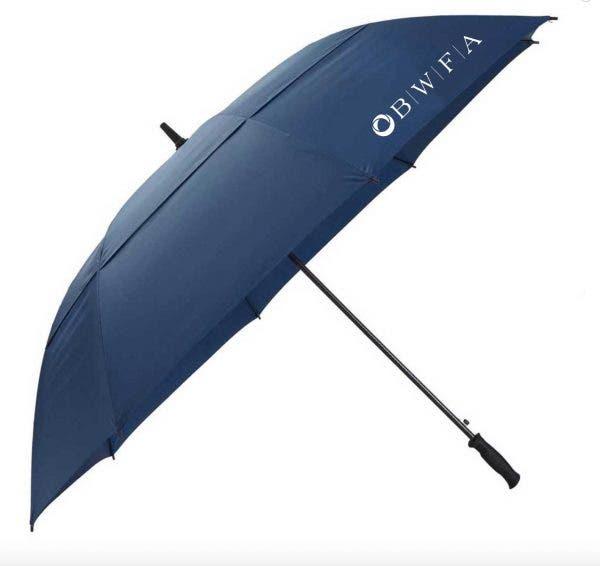 Leed's Navy Auto Open 68″ Epic Golf Umbrella