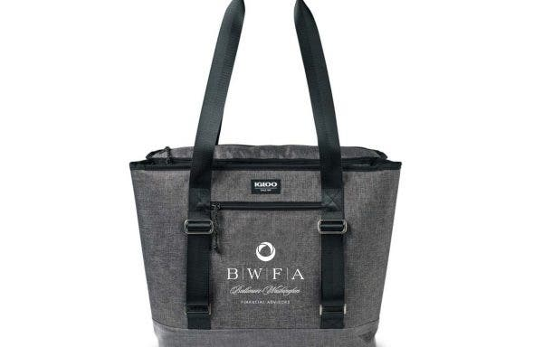 Igloo Heather Grey Daytripper Dual Compartment Tote Cooler