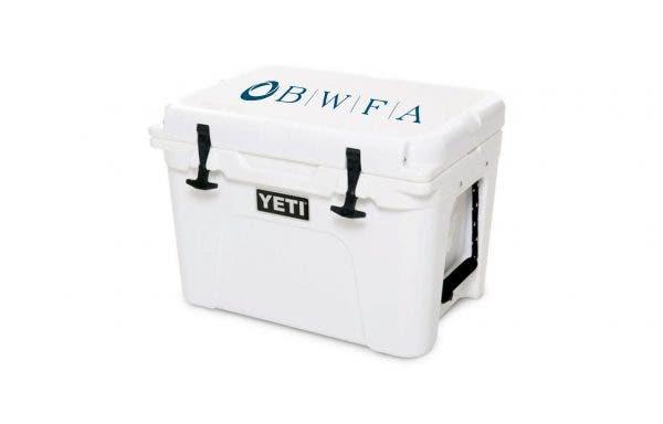 YETI White Tundra 35 Cooler