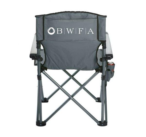 High Sierra Grey Deluxe Camping Chair