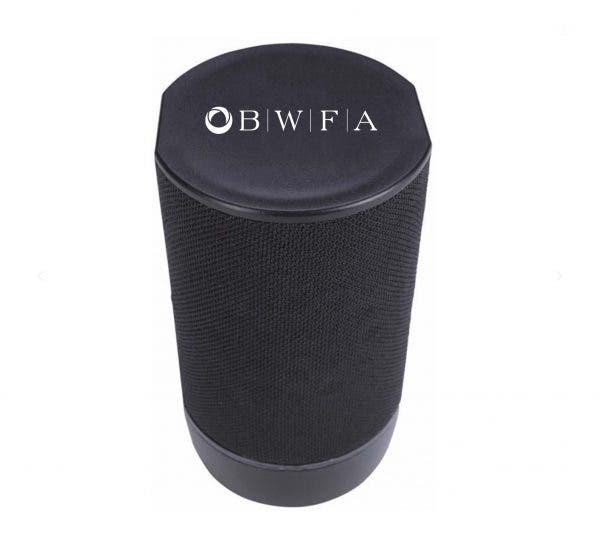 Good Value Black Pillar Light-Up Bluetooth Speaker