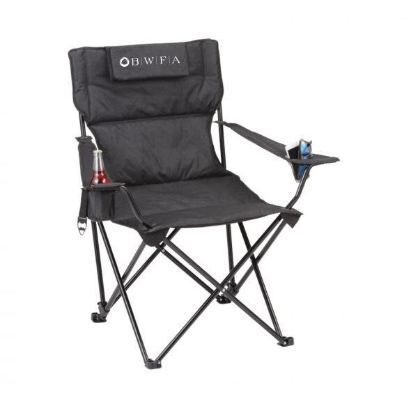 Leed's Black Premium Padded Reclining Chair (400lb Capacity)