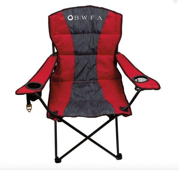 BIC Blue Premium Heather Stripe Chair
